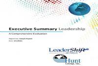 LeaderShift Executive Assessment - Sample Report